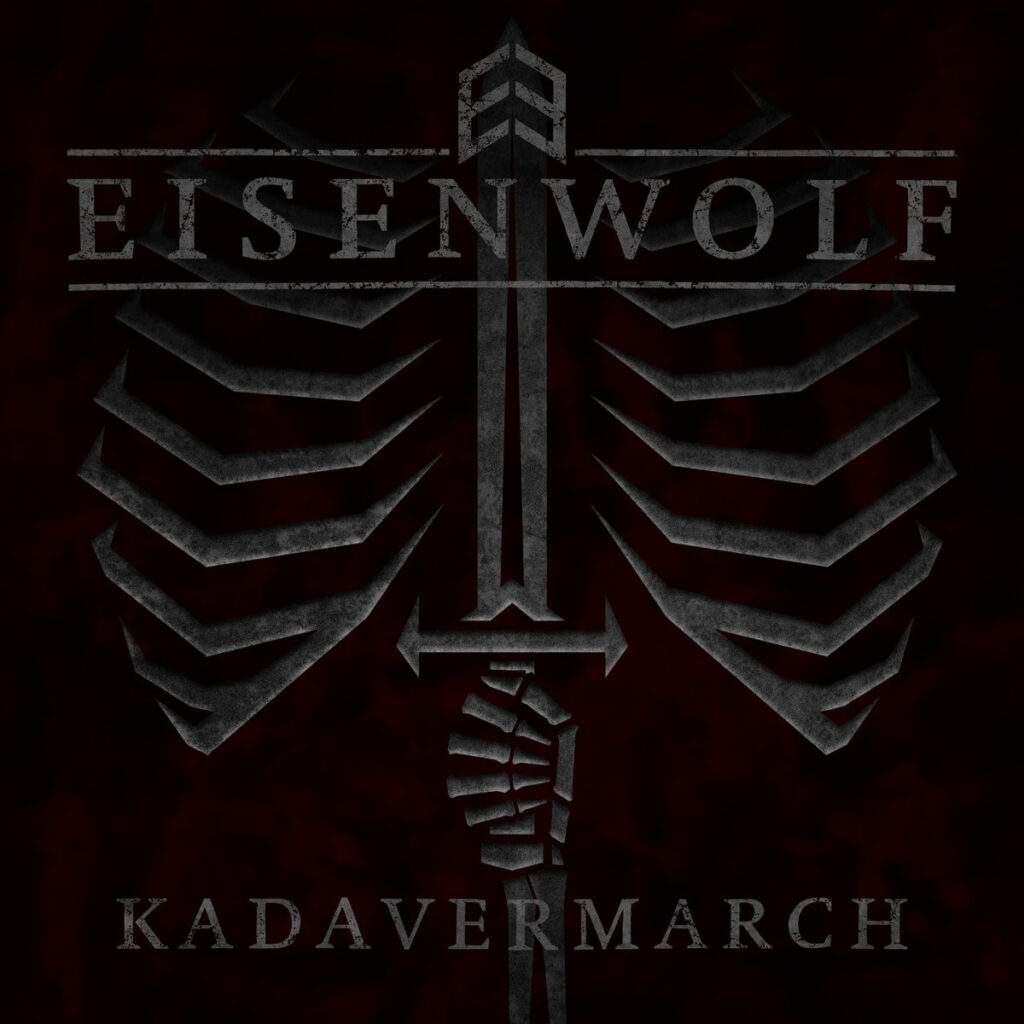Cover graphic for Eisenwolf - Kadavermarch