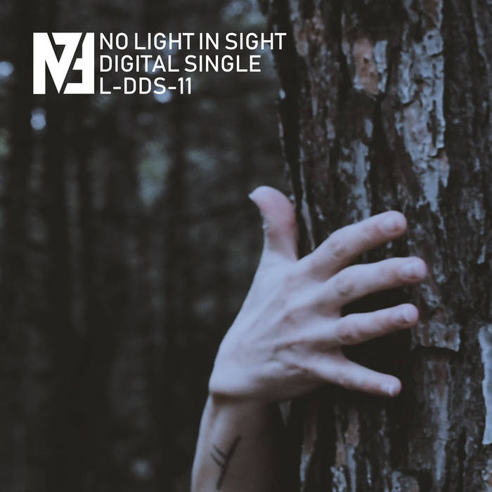 Cover graphic for M73 - No Light In Sight single