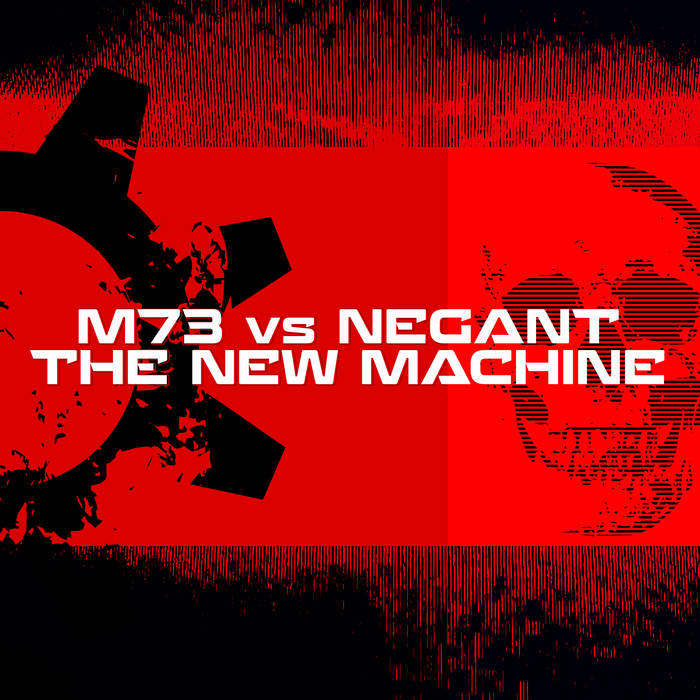 Cover graphic for M73 - The New Machine single